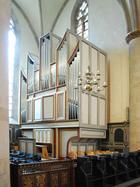 Die Steinmann-Orgel wurde 1955 stilgerecht eingebaut
