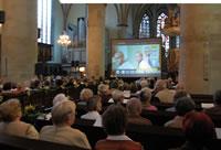 Kino in der Kirche